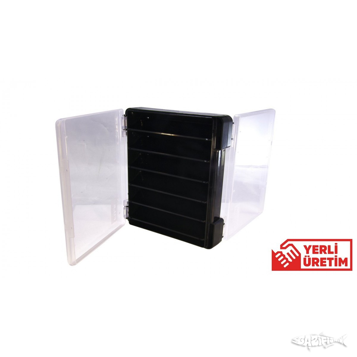 FUJIN Tackle Box Çift Taraflı Maket Balık Kutusu FTB104DS