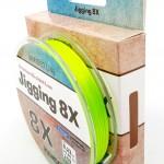 Kendo Jigging 8X Flash 300 mt Örgü İp (FLUO GREEN)